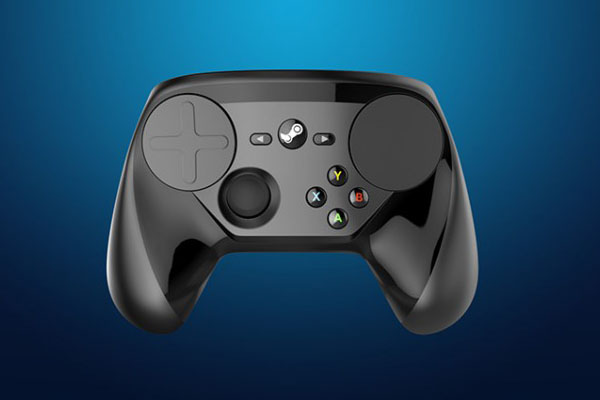 living room gaming pc navy sofa building a is finally good idea steam controller