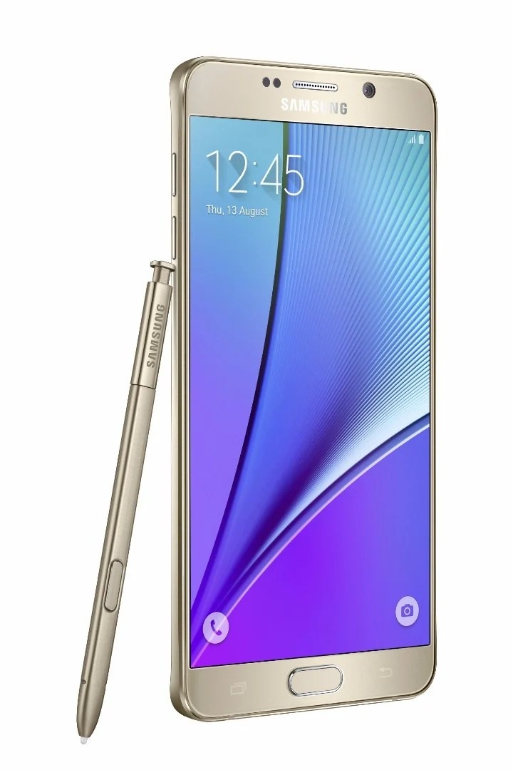 Samsung Launches Galaxy Note 5 And Galaxy S6 Edge