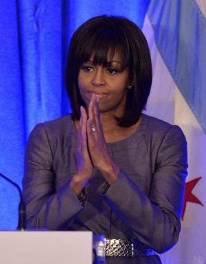 Post image for In Tearful Speech, Michelle Obama Recognizes Her Own Life in Hadiya Pendleton's