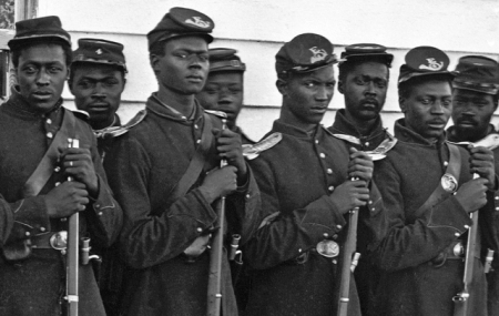 Post image for The First Memorial Day: Celebrating Fallen American Soldiers & the Freed Slaves Who Honored Them