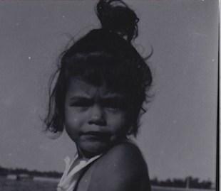 Me as a toddler.