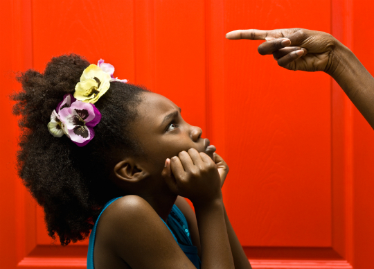 disciplining black kids