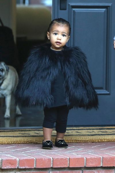 North West black outfits