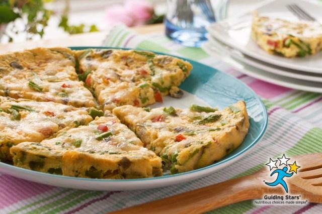 Fresh Asparagus Frittata