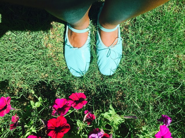 linge shoes ballet flats