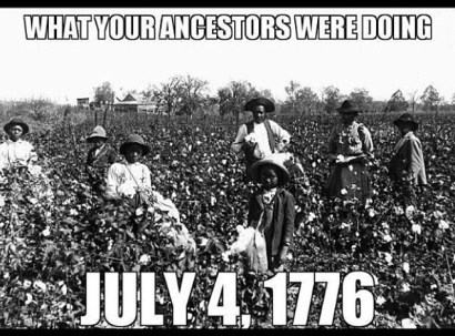 fourth of july and Black people