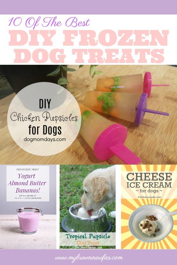 frozen dog treats