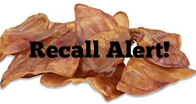Pig Ear Dog Treats Linked To Salmonella