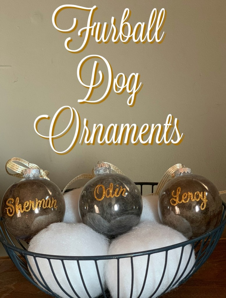Save the fur. Make these ornaments.