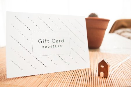 Gift Card. Regalá Bruselas!