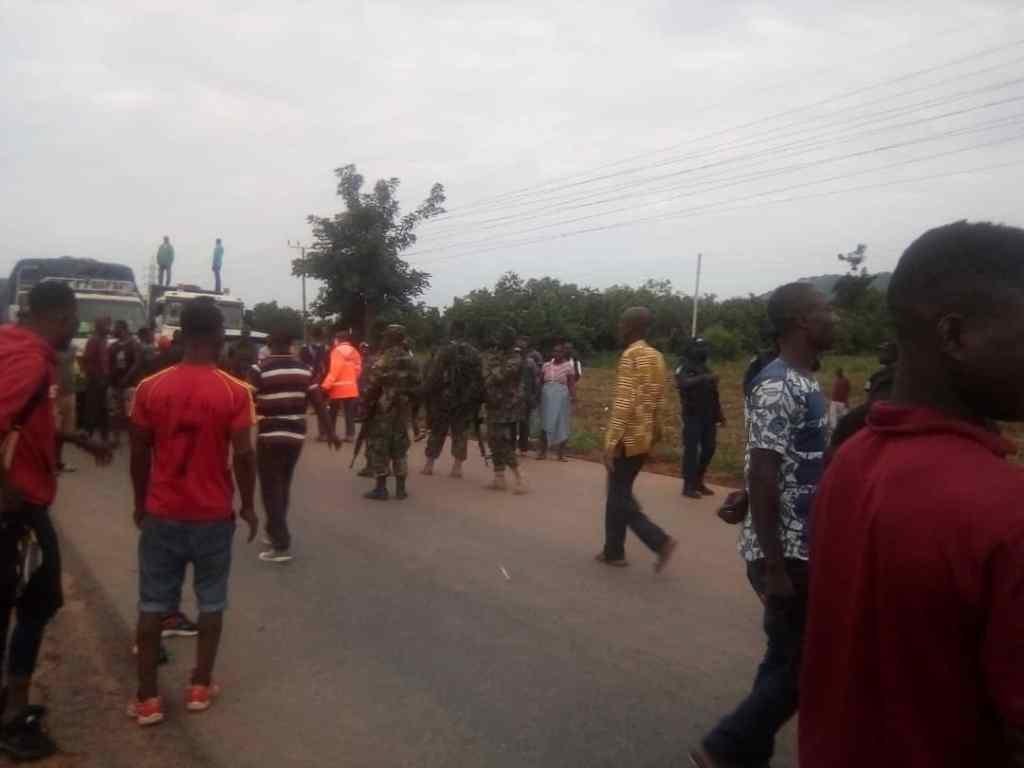 Western Togoland Group Block Roads in Eastern-Volta Regions 2
