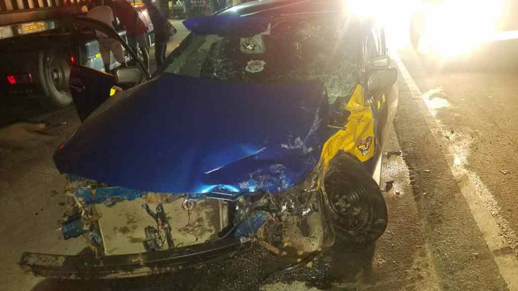Scores of Passengers Injured In Near-Fatal Accident at Suhum – Amanase 2