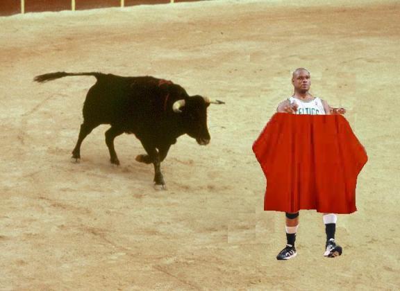 LOLNBA-Antoine-Walker-Runs-From-Bull