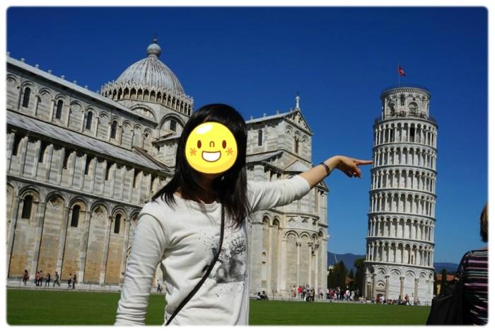 피사의 사탑(Leaning Tower of Pisa)방문해서 사진찍기