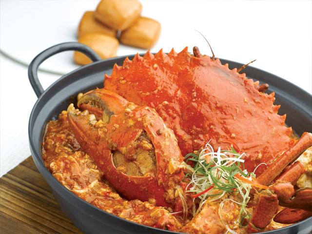 싱가폴에서 칠리크랩 (Chilli Crab) 먹기