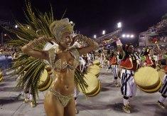 브라질 삼바 카니발 관람