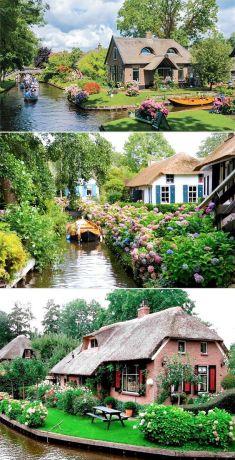 네덜란드 동화속마을 히트호른(Giethoorn) 여행