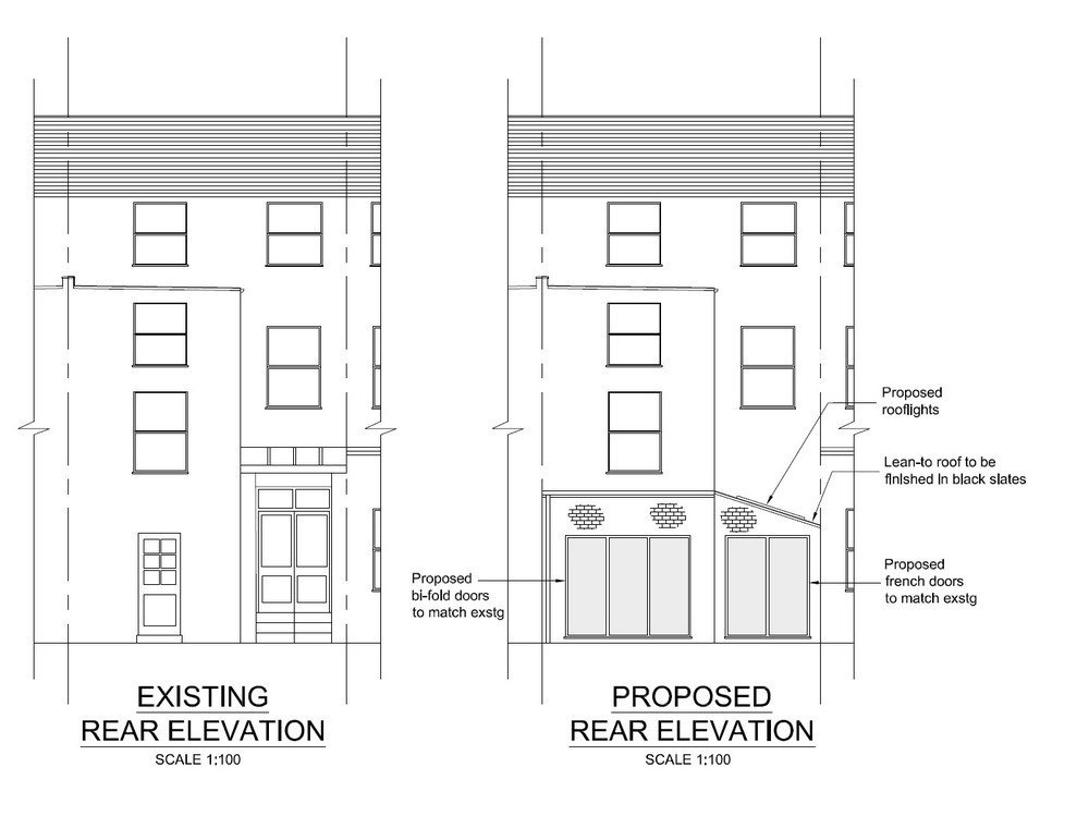 Single Storey Side Infill and Part-Rear Extension