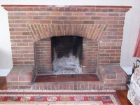 Repair of 1950s brick fireplace - Chimneys & Fireplaces ...