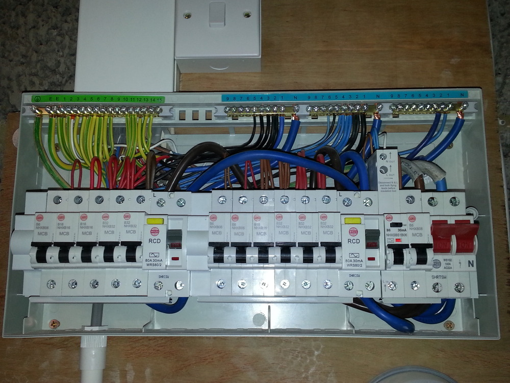 Consumer Unit Wiring Diagram As Well Connection Consumer Unit
