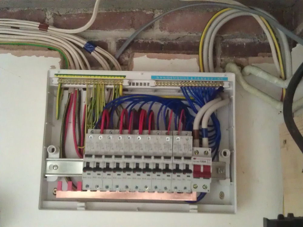 Wiring A Consumer Unit