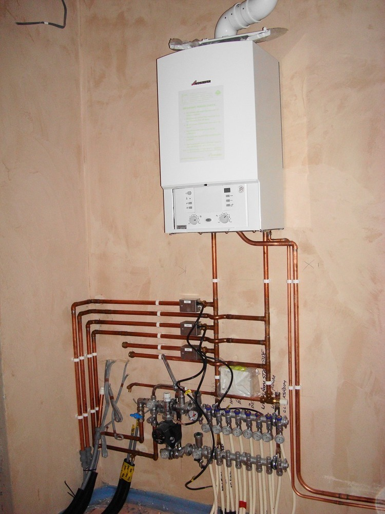 Wiring Diagram Underfloor Heating Manifold
