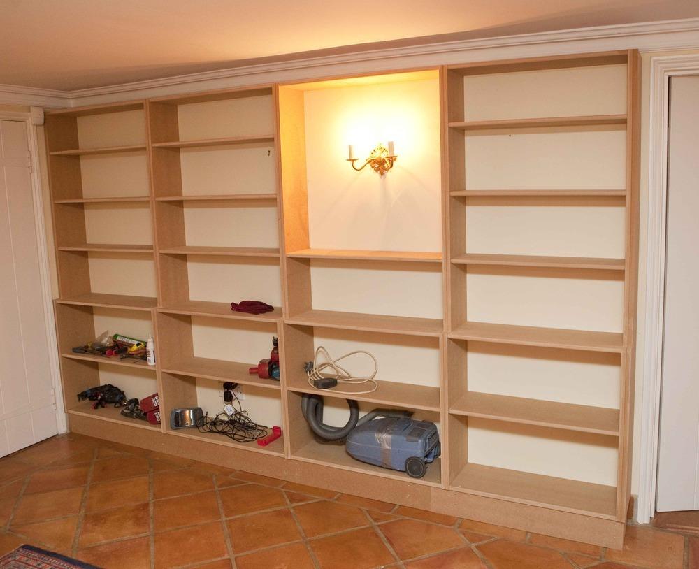 Mdf Bookcase DIY Blueprint Plans Download wood bench ...