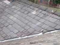 Slate roof overhaul and mortar ridge tiles - Roofing job ...