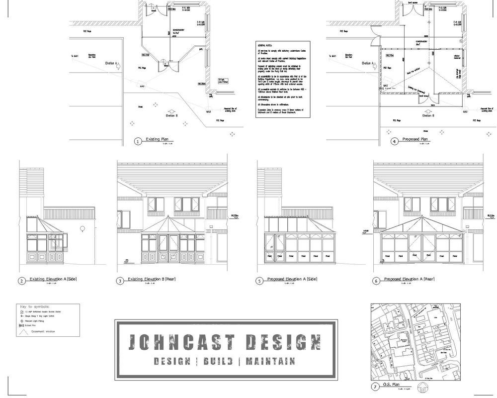 Johncast Design Limited: 100% Feedback, Architectural