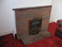Remove brick fireplace. - Demolition & Clearing job in ...