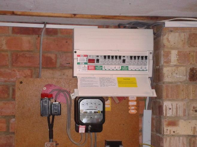 Wiring Up Garage Consumer Unit