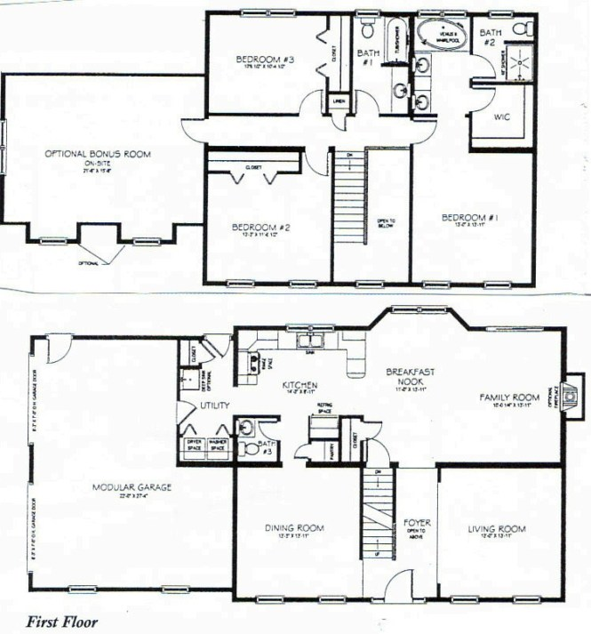 3 bedroom 2 bath 1 story house plans - moncler-factory-outlets