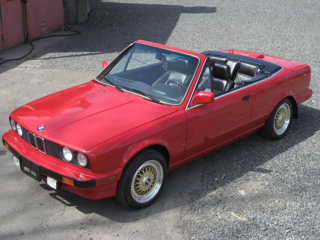 hight resolution of 1987 bmw 325 e30 convertible restoration