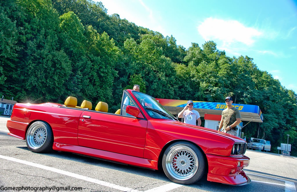Ferrari Red BMW E30 M3 convertible. S52 swap. HOT ! – My Build Garage