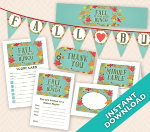November Bunco Fall