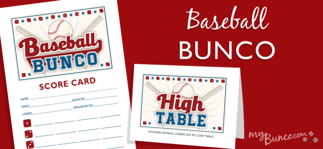 Baseball Bunco