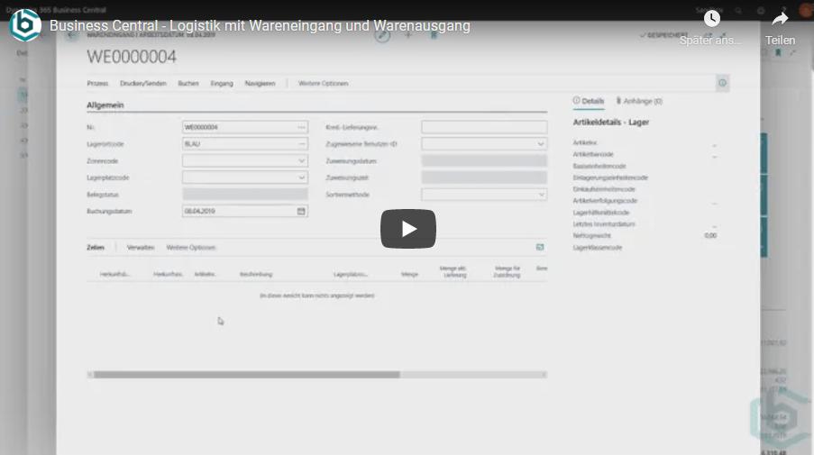 Read more about the article Logistik mit Wareneingang und Warenausgang