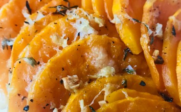 Garlic and Thyme Roasted Butternut Squash