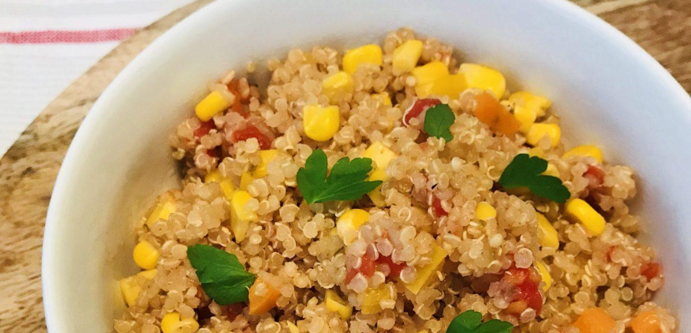 Quick Mexican Quinoa Skillet