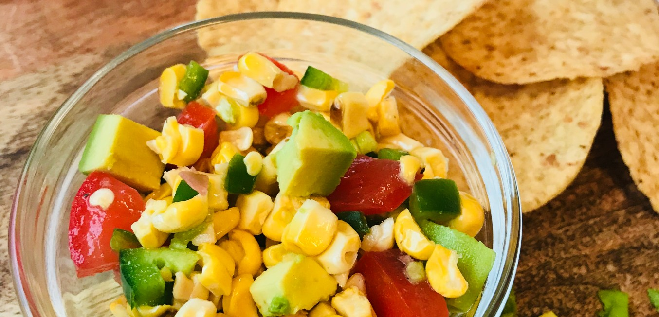 Fresh and Light Grilled Corn Salsa