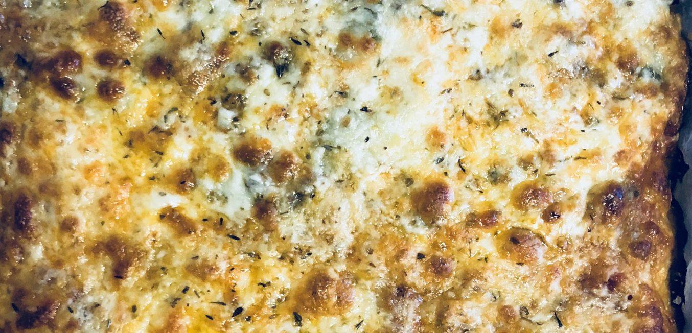Three Cheese Veggie Pizza