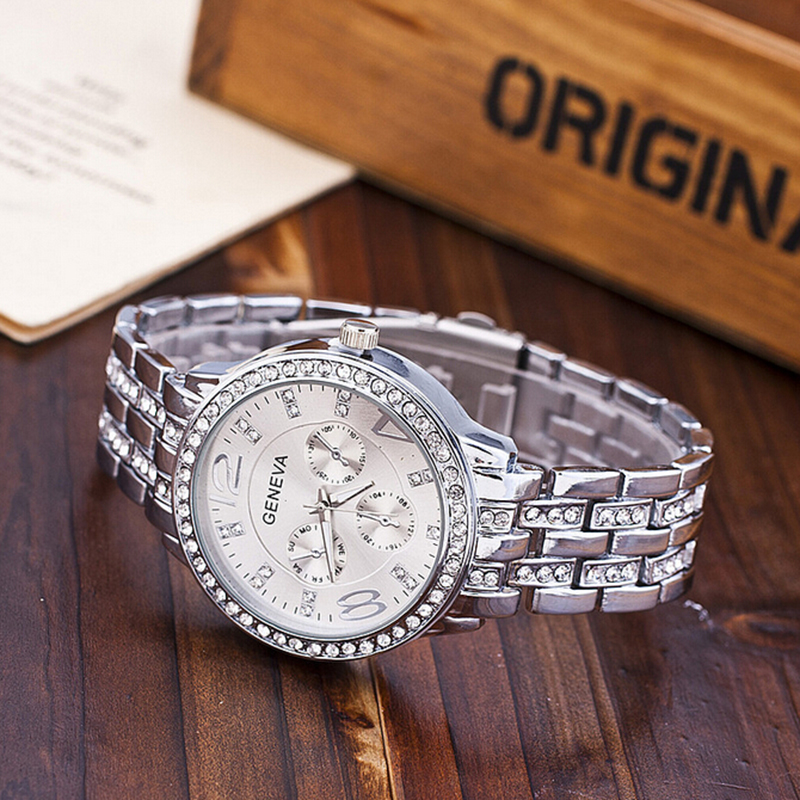 Image result for geneva watch silver