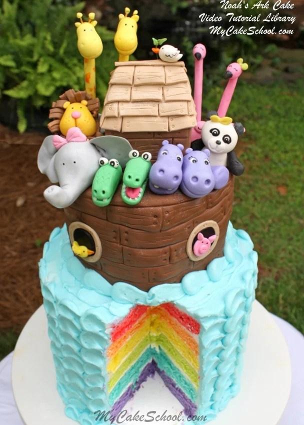 Sweet Cakes Ark : sweet, cakes, Noah's, Video~Part, (Rainbow, School