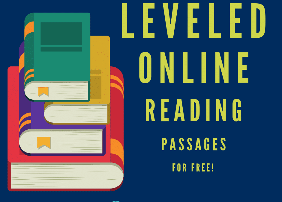 Top 6 Websites Offering Free Leveled Reading Passages