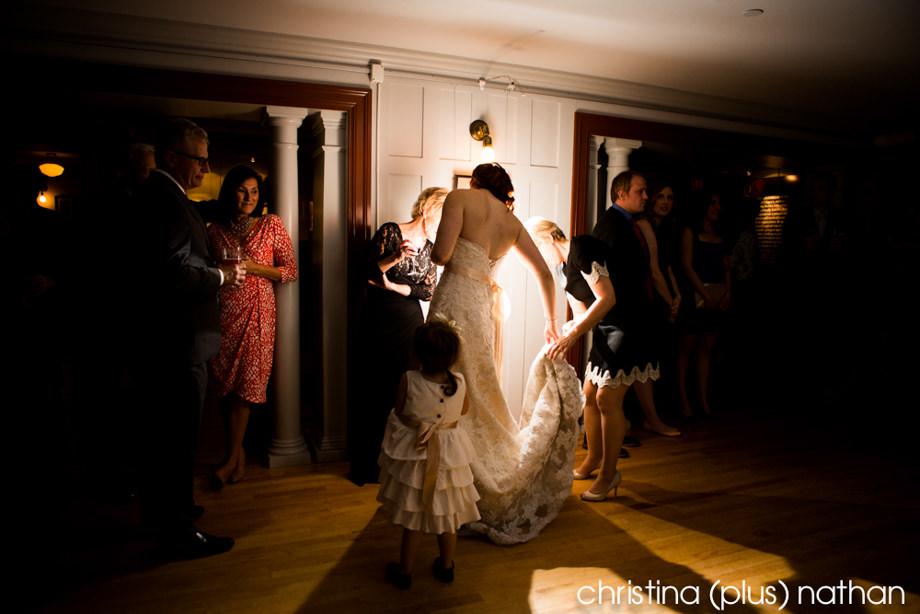 Lougheed house wedding  Kate  Heath