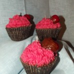 Cuppy Cake Chocolate Covered Strawberry