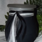 Frosted Jar Candle