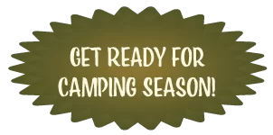 Get Ready for Camping Season Badge