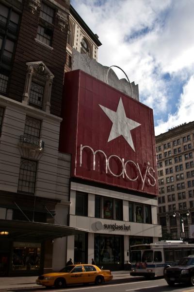 Macy's Kaufhaus New York