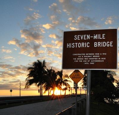 Florida Keys - Old Seven Mile Bridge